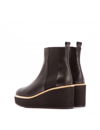 ANEVAY sandalia en natur calf marrón